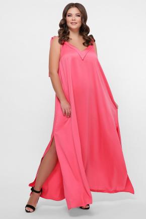 0302 Платье пляжное. Цвет: розовый