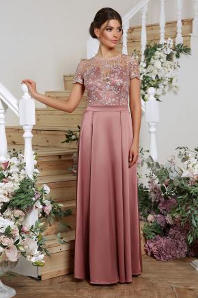 платье Лорена к/р. Цвет: лиловый