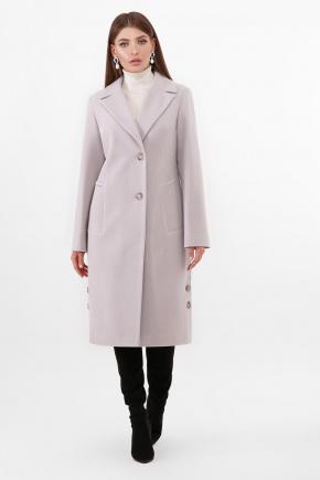 Пальто ПМ-104. Цвет: 17-св.серый
