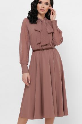 платье Аля-1д/р. Цвет: капучино