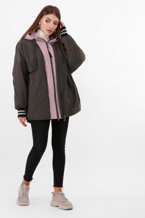 Куртка 2103. Цвет: 709/207-т..хаки-пудра