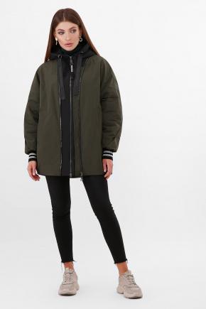 Куртка 2103. Цвет: 405/701-хаки-черный