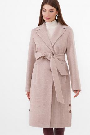 Пальто ПМ-104-d. Цвет: 30-св.бежевый