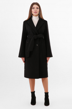 Пальто ПМ-104. Цвет: черный