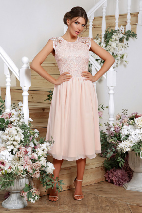 платье Джуди-1 б/р. Цвет: персик