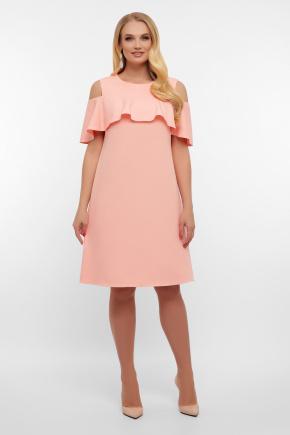 платье Ольбия-Б б/р. Цвет: персик