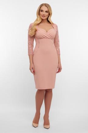 платье Сусанна-1Б д/р. Цвет: лиловый