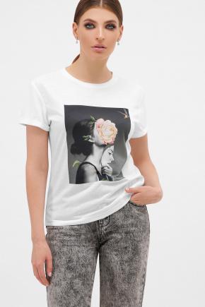 Маска футболка Boy-2. Цвет: белый