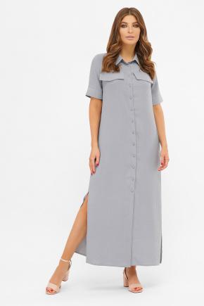 платье-рубашка Мелиса к/р. Цвет: св.джинс