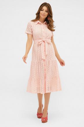 платье Уника 1 к/р. Цвет: персик
