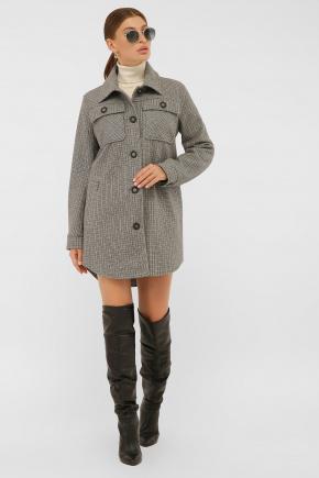 Пальто П-409-85. Цвет: 2704-т.серый