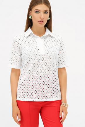 блуза Малена к/р. Цвет: белый