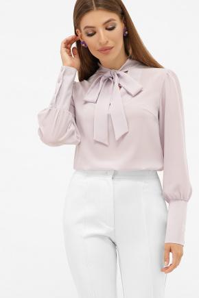 блуза Дарла д/р. Цвет: лавандовый