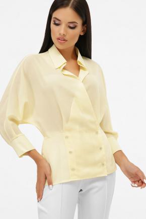 блуза Риона 3/4. Цвет: ваниль