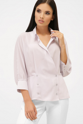блуза Риона 3/4. Цвет: лавандовый