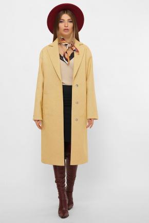 Пальто MS-267. Цвет: 267-горчица