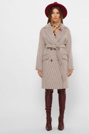 Пальто MS-269. Цвет: 280-св.коричневый