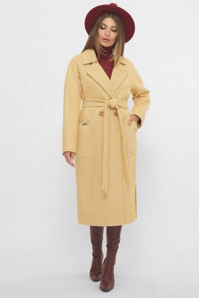 Пальто MS-265. Цвет: 267-горчица