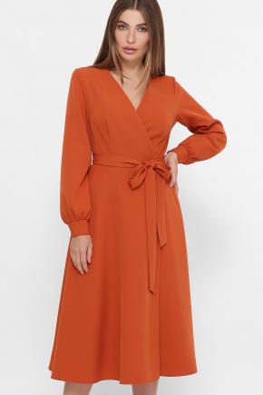 платье Дарена д/р. Цвет: терракот