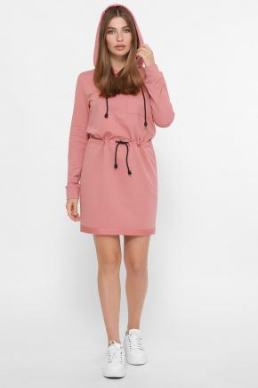 платье Кити д/р. Цвет: лососевый