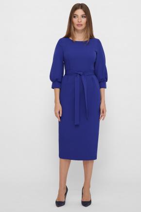 Платье Лэтти 3/4. Цвет: королевский синий