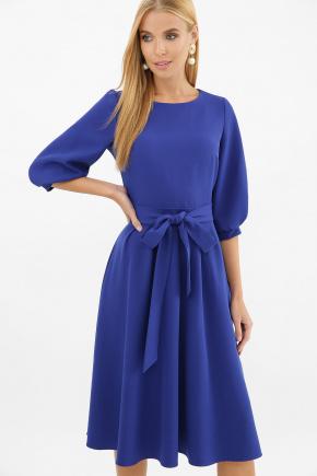платье Рабия 3/4. Цвет: королевский синий