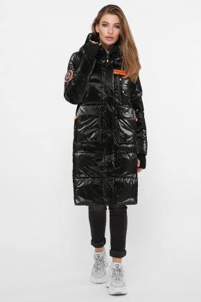 Куртка 298. Колір: 01-черный-оранжевый