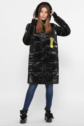 Куртка В-2103. Колір: 01-черный-желтый