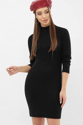 Платье-гольф Алена1 д/р. Цвет: черный