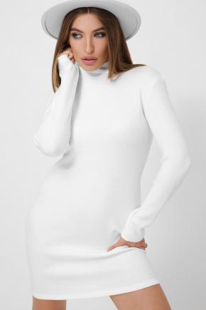 Платье-гольф Алена1 д/р. Цвет: белый