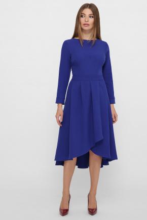 Платье Лика д/р. Цвет: королевский синий