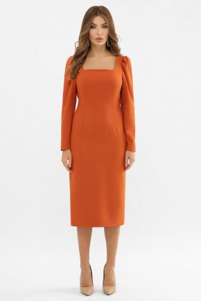 Платье Асель д/р. Цвет: терракот
