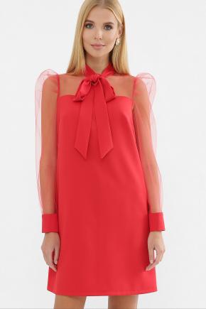 платье Раяна д/р. Цвет: красный