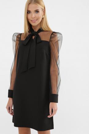 платье Раяна д/р. Цвет: черный