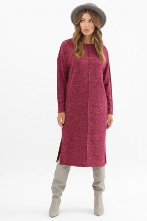 платье Беата д/р. Цвет: бордо