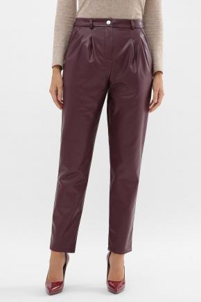 Бакси К1 брюки. Цвет: бордо