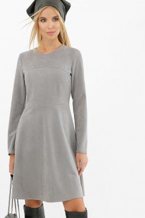 Платье Ронни д/р. Цвет: серый