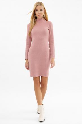 Платье-гольф Алена1 д/р. Цвет: пыльная роза