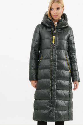 Куртка 2128. Колір: 03-изумруд-желтый