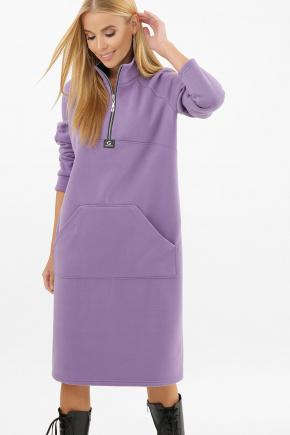 платье Айсин д/р. Цвет: сиреневый