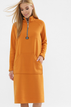 платье Айсин д/р. Цвет: горчица