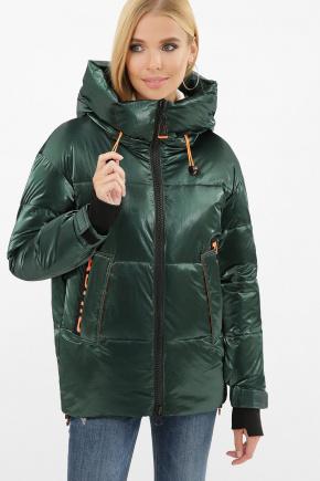 Куртка 8100. Цвет: 03-изумруд-оранжевый