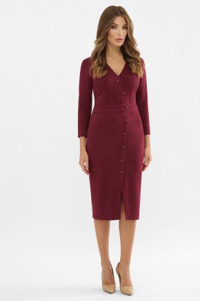 Платье Элвина 3/4. Цвет: бордо
