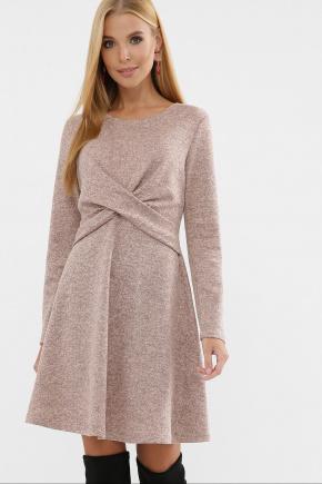 Платье Дафна д/р. Цвет: персик