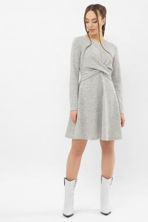 Платье Дафна д/р. Цвет: серый