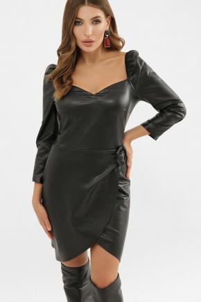 Платье Разия д/р. Цвет: черный