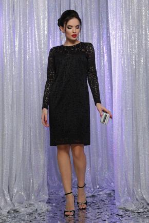 платье Сания д/р. Цвет: черный