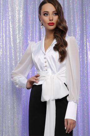 блуза Аврил д/р. Цвет: белый