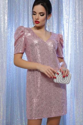 платье Элозия к/р. Цвет: розовый-розовый