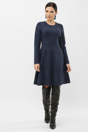 платье Ронни д/р. Цвет: синий